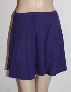 SUPRE-Brand-Purple-Full-Flared-Skater-Skirt-Size-XS-BNWT-sV113