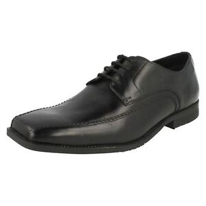 formali Clarks uomo da Baker Black stringate Scarpe CHqx8w01C