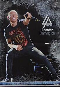 CHESTER-BENNINGTON-A3-Poster-ca-42-x-28-cm-Linkin-Park-Clippings-Sammlung