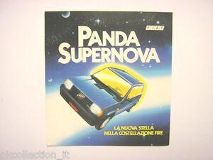 Vecchio adesivo anni 80 old sticker fiat panda supernova fire cm