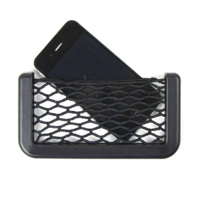 New Car Auto String Mesh- Bag Storage Pouch for Cellphone Gadget Cigarette