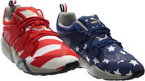 493254e1dfd48 Image is loading Puma-Blaze-Of-Glory-RWB-Sneakers-Red-Mens