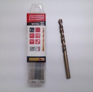 Broca-7-5-mm-HSS-E-Metal-Advance-5-De-Cobalto-DIN-338-Dureza-1200-N-mm2