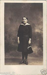 Photographie-ancienne-Jeune-fille-H323