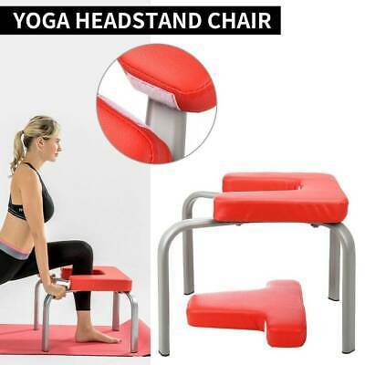 yoga inversion chair headstand bench exercise stool