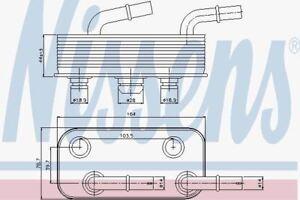 Nissens-90657-Enfriador-de-Aceite-para-BMW-Serie-3-E46-98