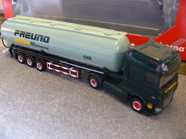 1 87 Herpa DAF XF Euro 6 SSC ami Silo-Semi-remorque 305983