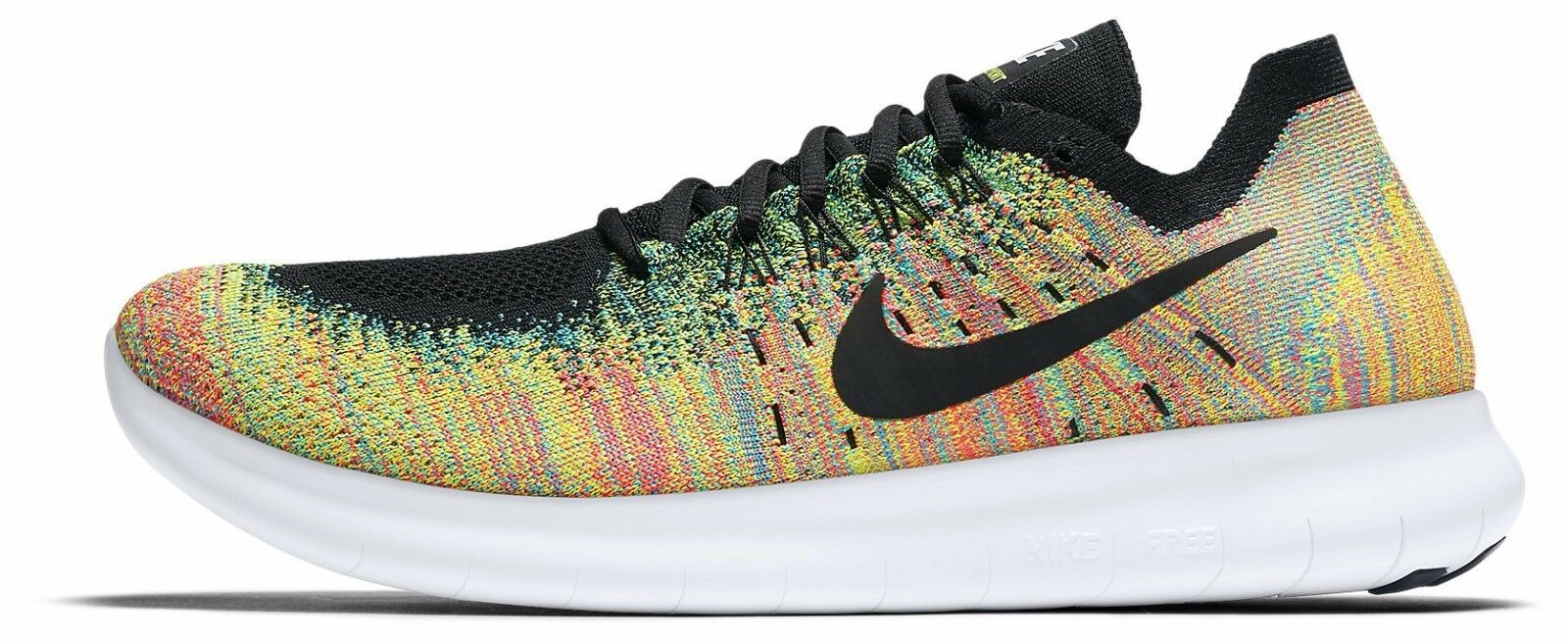 NIKE FREE RN FLYKNIT 2018 RUNNING SHOES 880843-005 Price reduction best-selling model of the brand