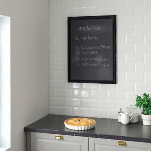 IKEA-Kreidetafel-schwarz-Schultafel-Notiztafel-50x70-cm-ohne-Holzrahmen
