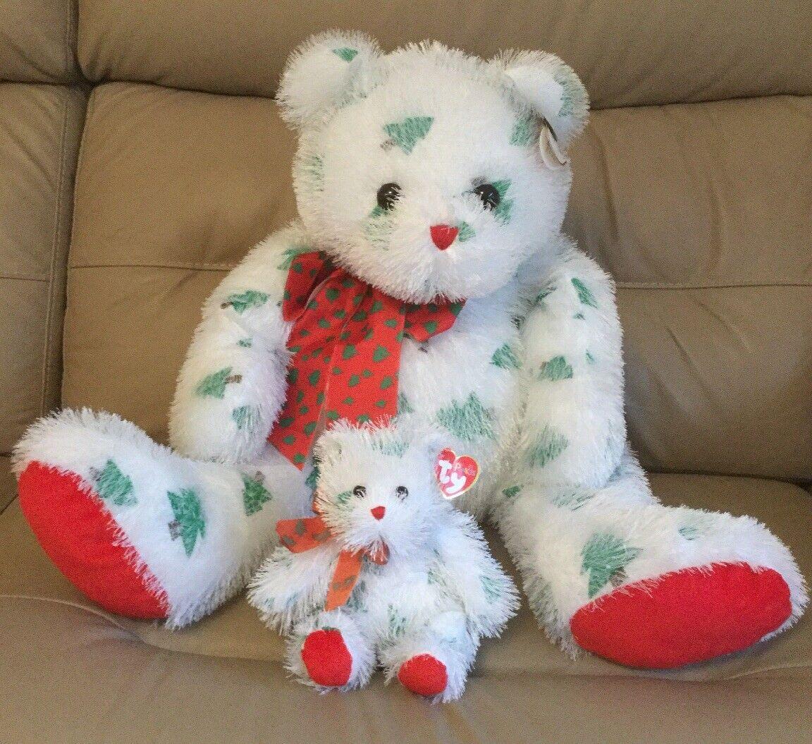 2 x TY - 26  Jolly Santa Claws & 6.5  Lil Santa Claws - Punkies Collection