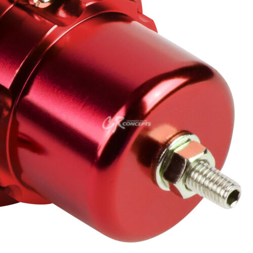 FOR HONDA ACURA B16 B18 F20 RED JDM ADJUSTABLE BILLET FUEL PRESSURE REGULATOR