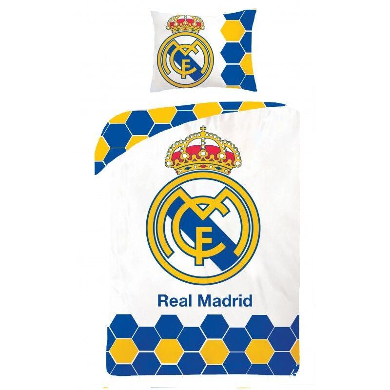 Komplekty Postelnogo Belya Fuball Bettwsche Real Madrid Ronaldo Football 135x200 140x200 100 Baumwolle