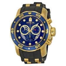 ed529f945b5 Invicta Pro Diver Chronograph Blue Dial Black Rubber Men s Watch 6983