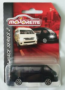Majorette-TOYOTA-HIACE-Van-Series-2-Black-diecast-model-car-Limited-edition-Toy