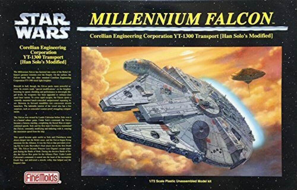 FinMolds 1  72 stjärnornas krig MILLENIUM FALCON Plast modellllerlerl Kit NY F  S