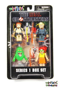 Real Ghostbusters Minimates Série 1 Coffret