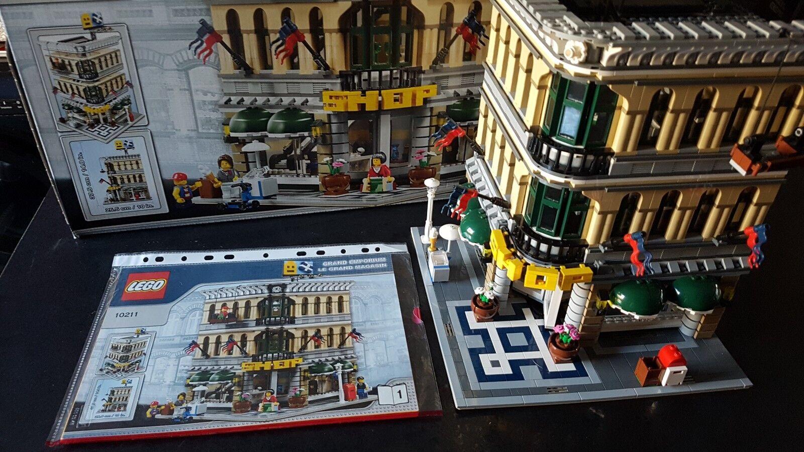 LEGO grand emporium 10211 in scatola con istruzioni