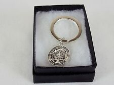 Stainless Steel Key Ring ~  K. Cole 1983 25th Anniversary Coin ~NEW # 5230170