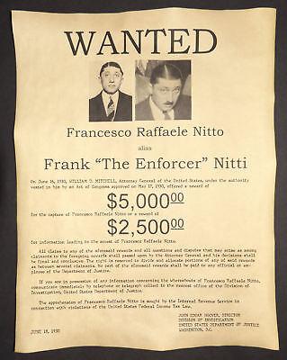 Al Capone Great Poster Gangster Mafia Speakeasy