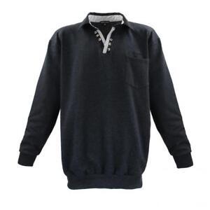 Maglia 4xl 6xl 8xl Sweatshirt Troyer Misure Antracite 5xl 7xl 3xl Lavecchia qSFZwW5UU