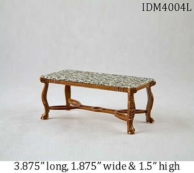 CONTEMPORARY COFFEE TABLE 1:12 SCALE DOLLHOUSE MINIATURES Heirloom Collection