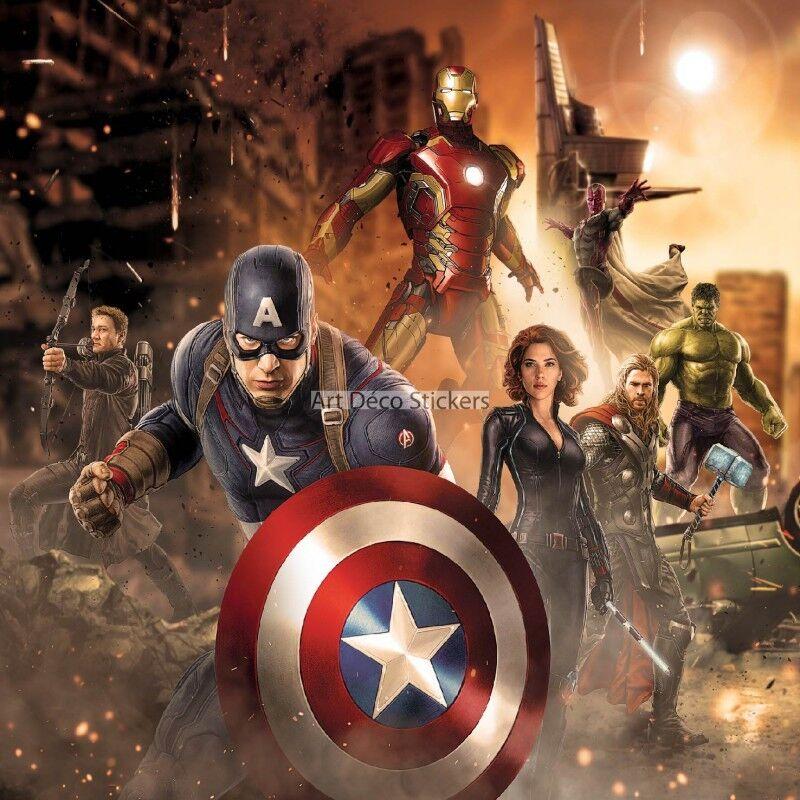 Aufkleber Riesig Deko Avengers 15165 15165