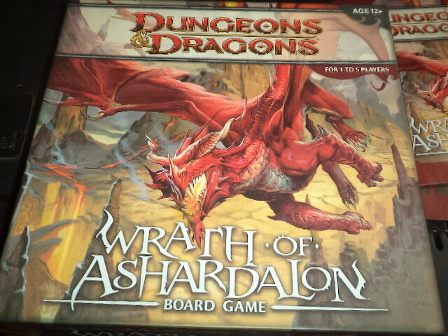DONJONS & DRAGONS Wrath of ashardalon Wizards Coast D et D Board Game Nice