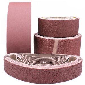 Schleifband Gewebe Bandschleifer Schleifpapier 50x686, 100x560, 100x610 P40-P400