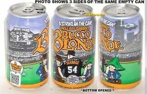 2015 1st BUCCO-BLONDE PITTSBURGH PIRATE BASEBALL RAY SEARAGE MICRO BREW BEER CAN
