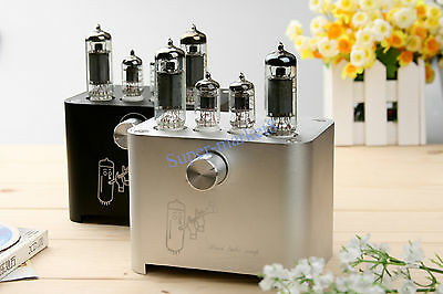 ECL805 ECL85 New Small Mini Tube AMP Single Ended HIFI Audio Amplifier 6F3