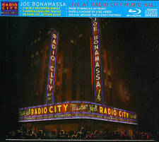 JOE BONAMASSA - LIVE AT RADIO CITY MUSIC HALL NEW BLU-RAY