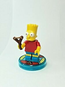 LEGO-Dimensions-Simpsons-Bart-Simpson-Minifigure-from-71211-NEW