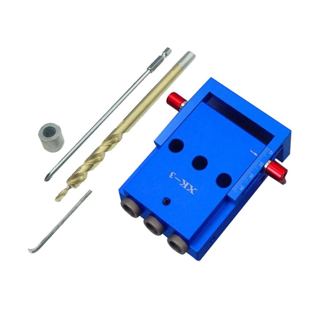 Mini Mini Mini gabarit de perçage avec trou de perçage de 9,5 mm 125a26