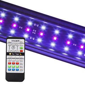 VivaGrow DayNight RGB LED Light Aquarium Fish Tank Plant 24/7 Remote Customize