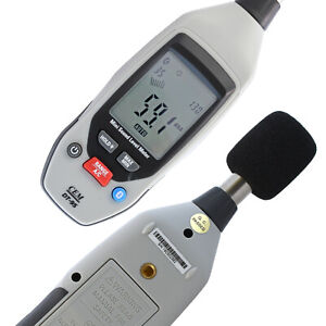 Details about Sound level meter Sonometer noise level recorder bluetooth  +smartphone app 130dB