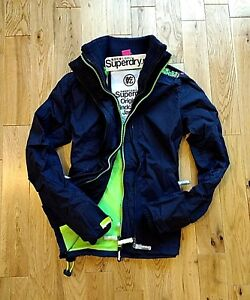 Coat New Small Superdry Original Jacket Genuine Size Authentic Women Windcheater nRY1qrfRw
