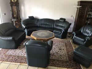 Wohnzimmer Garnitur Couch Wohnlandschaft Sessel Sofa Tisch ...