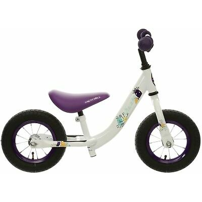 "Apollo Wizzer Boys Balance Bike Bicycle Purple 10"" Wheels Steel Frame Age 2-4"