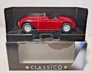 Shell-Classico-Diecast-1948-Ferrari-166-Mm-Nuevo-y-Sellado