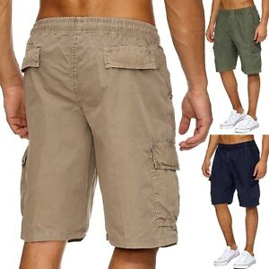 Hommes-Shorts-Forbest-Cargo-Shorts-Vintage-Court-Casual