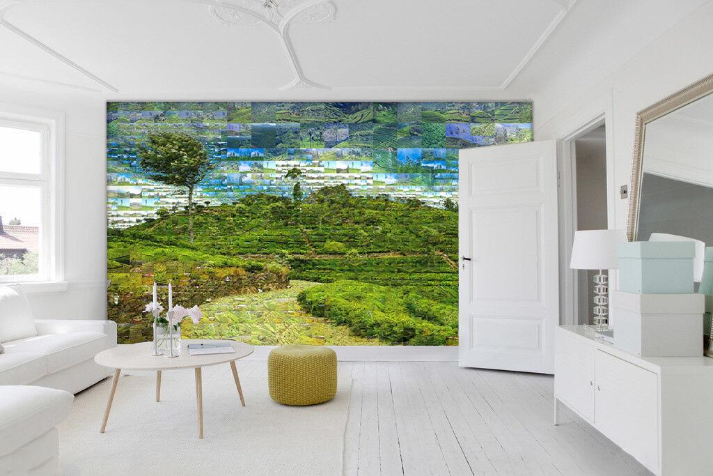 3D Grün grassland 235 Wall Paper Print Wall Decal Deco Indoor Wall Murals
