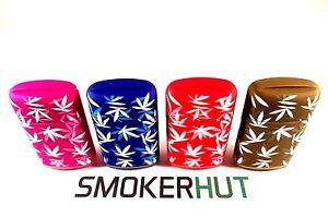 Windproof-Jet-Cigarette-Lighters-Prof-Adjustable-Gas-Refillable-Leaf-Design