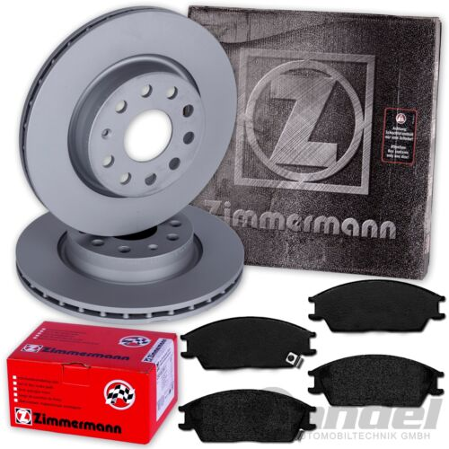 Bj 2002-2010 Zimmermann Disques De Frein 241 mm garnitures avant Hyundai Getz to