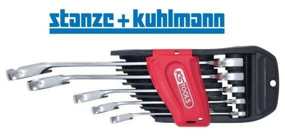 KS Tools GEAR+ Ratschenmaulschlüsselsatz 5-tlg umschaltbar 503.5905 | Ausgewählte Materialien  | Realistisch  | Schön  | Hat einen langen Ruf