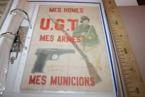 7 UGT MES HOMES. CUPONES DE RACIONAMIENTO FALSO, SENTMANAT-BARCELONA, 1937