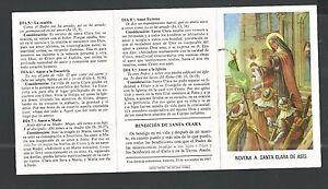 image pieuse de Santa Clara de Asis santino holy card estampa ZIC3rfqK-09095614-758363647