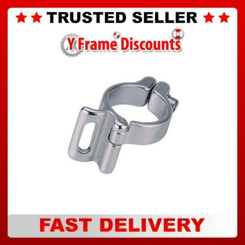RSP Braze-On Clamp 28.6mm Silver