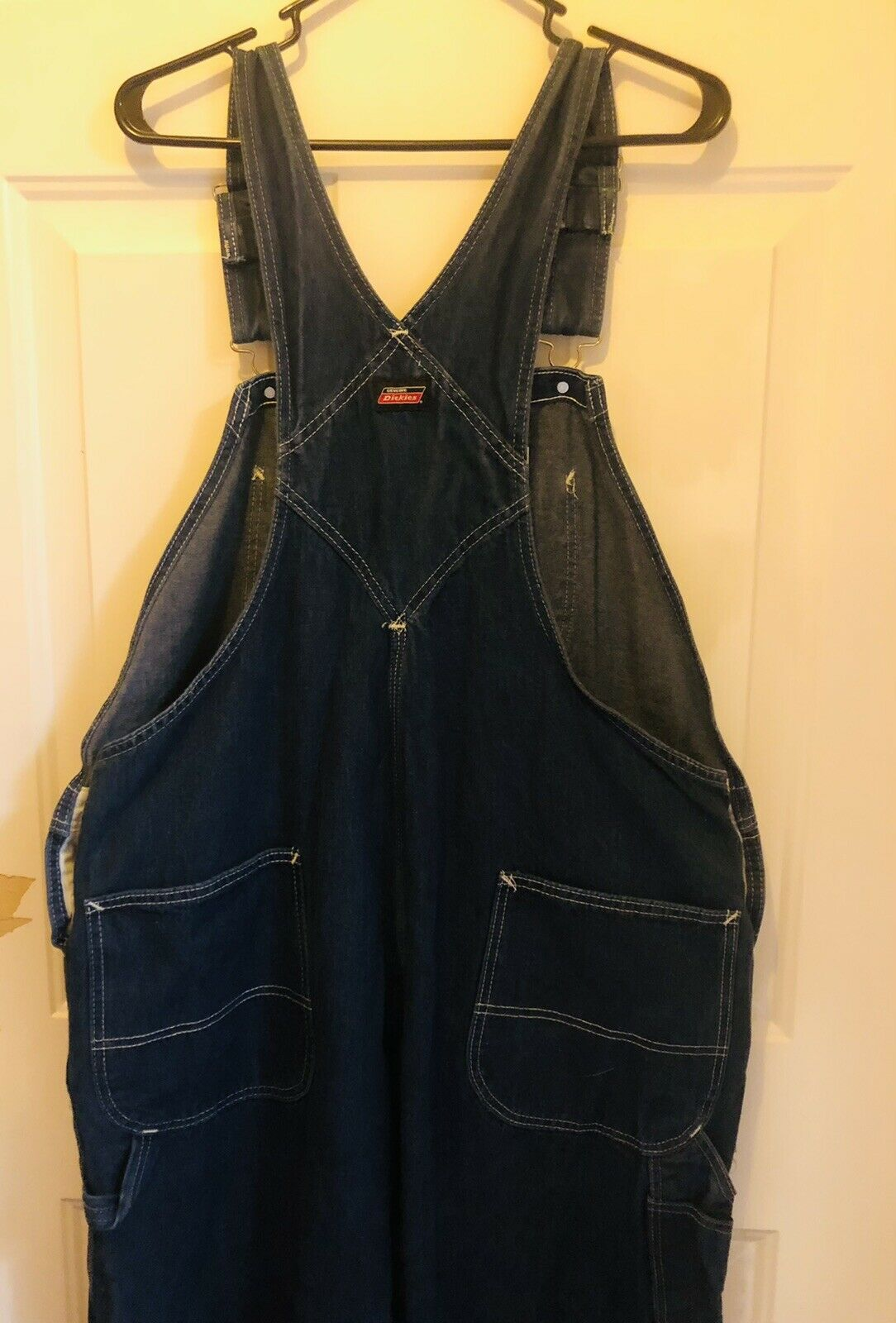Dickies Jeans  Bib Overalls Size 42x32 - image 2