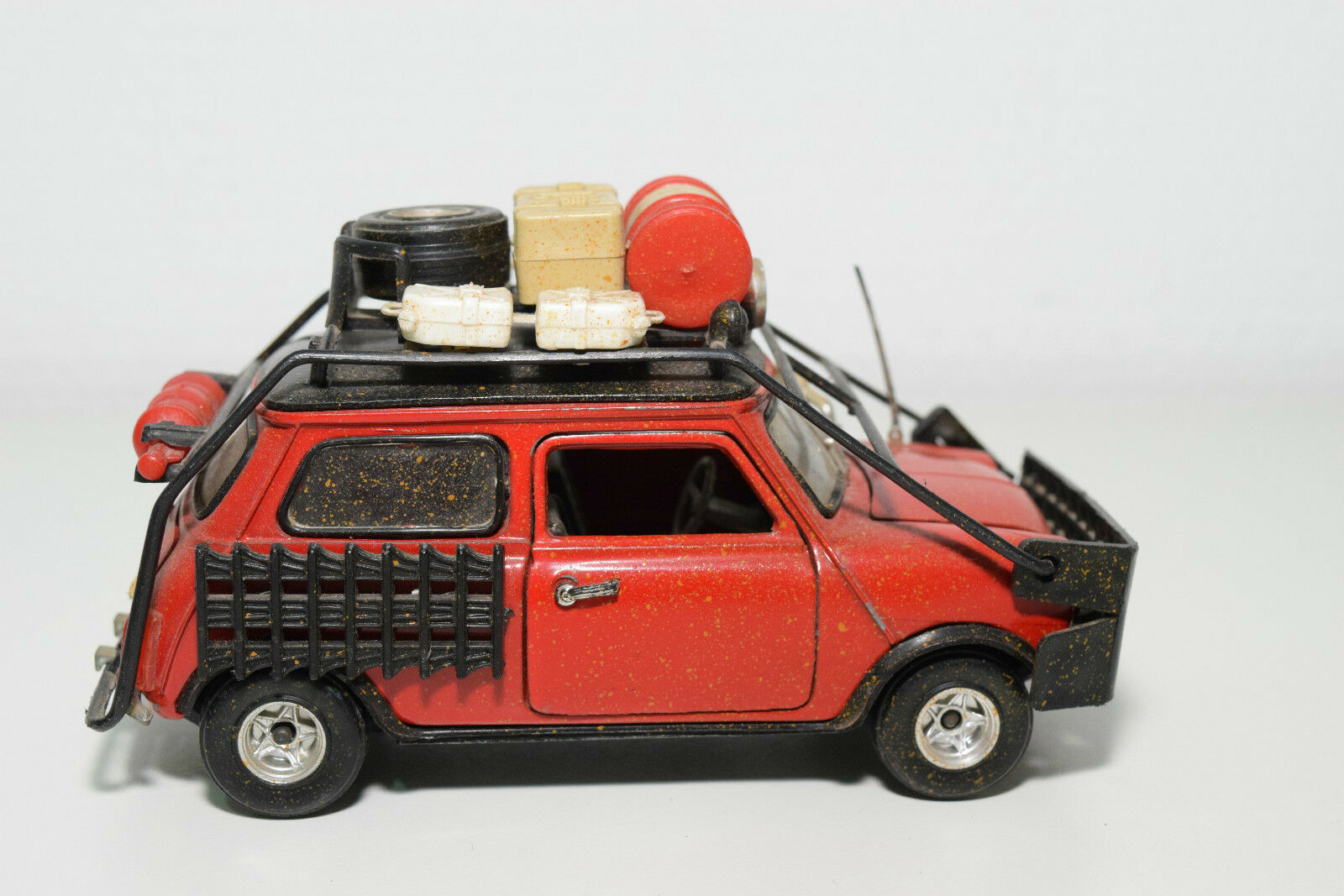 POLISTIL 582 MINI COOPER RALLY RED NEAR MINT CONDITION CONDITION CONDITION 511a91