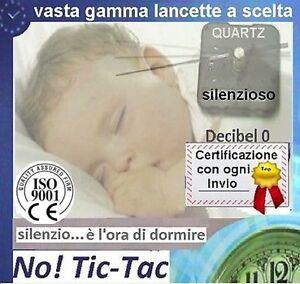 L3-OROLOGIO-PARETE-SILENZIOSO-MECCANISMO-SENZA-TIC-TAC-filettatura-MEDIA-E16-Acc